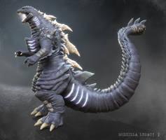 Godzilla Legacy by Digiwip