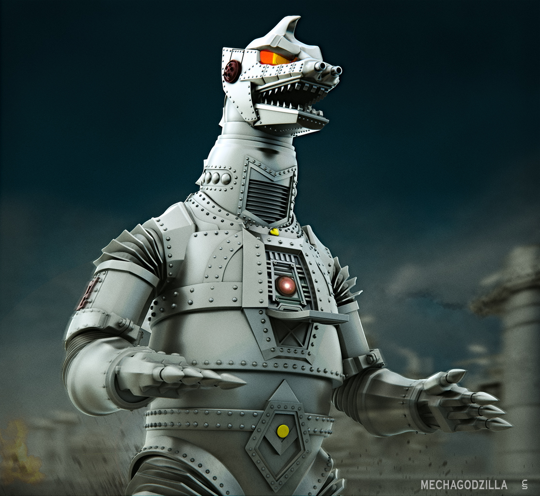 Godzilla And Other Kaiju Favourites By Atomiccrusader On