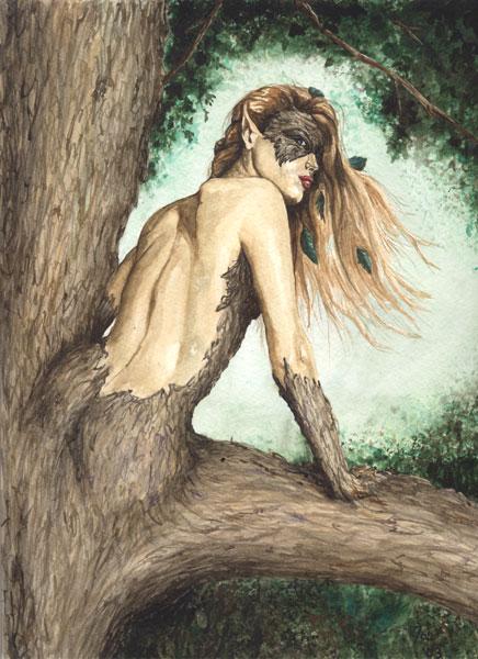 Lignia the Dryad