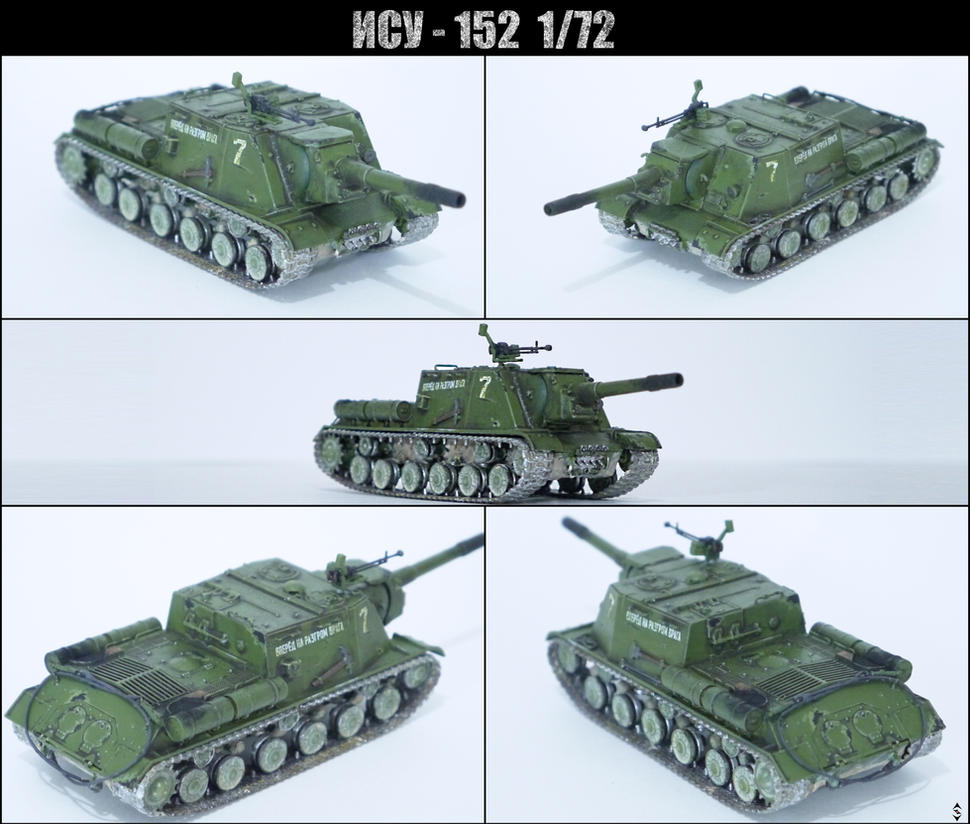 ISU-152 1/72 by tec192