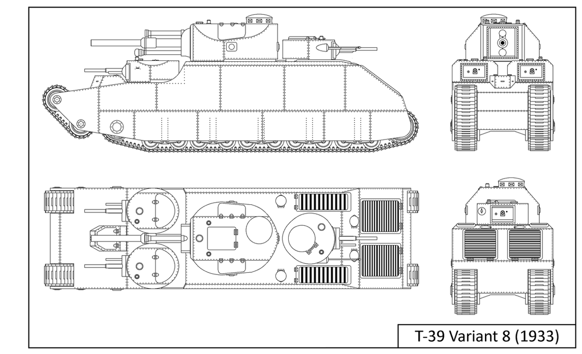 T-39 Variant 8 (1933) by tec192
