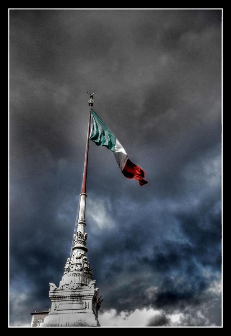 italian flag by pier365