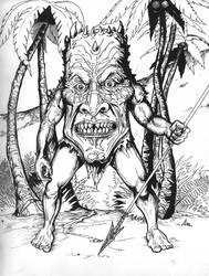 Tiki Man by aquilianranger