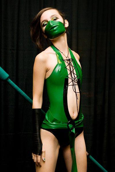 Jade, Mortal Kombat latex by theARTofCARNAGE