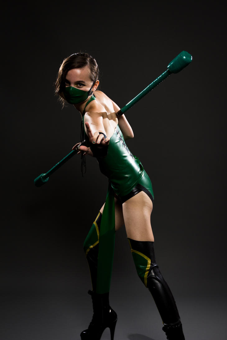 Jade, Mortal Kombat latex 02 by theARTofCARNAGE