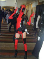 Lady Deadpool (Paco Chung) by theARTofCARNAGE