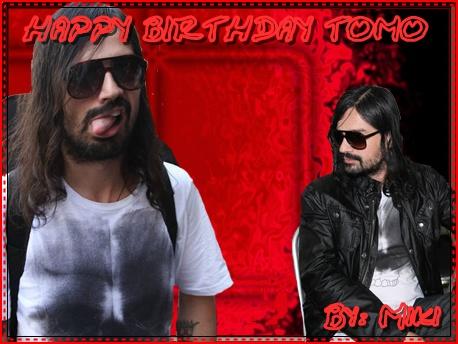 HAPPY BIRTHDAY TOMO by EchelonAttack30stm