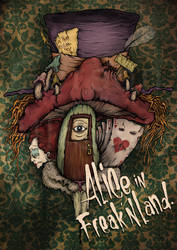 Alice book cover by gerson-newone-s
