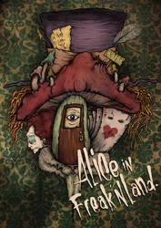 Alice in freak'nland by gerson-newone-s