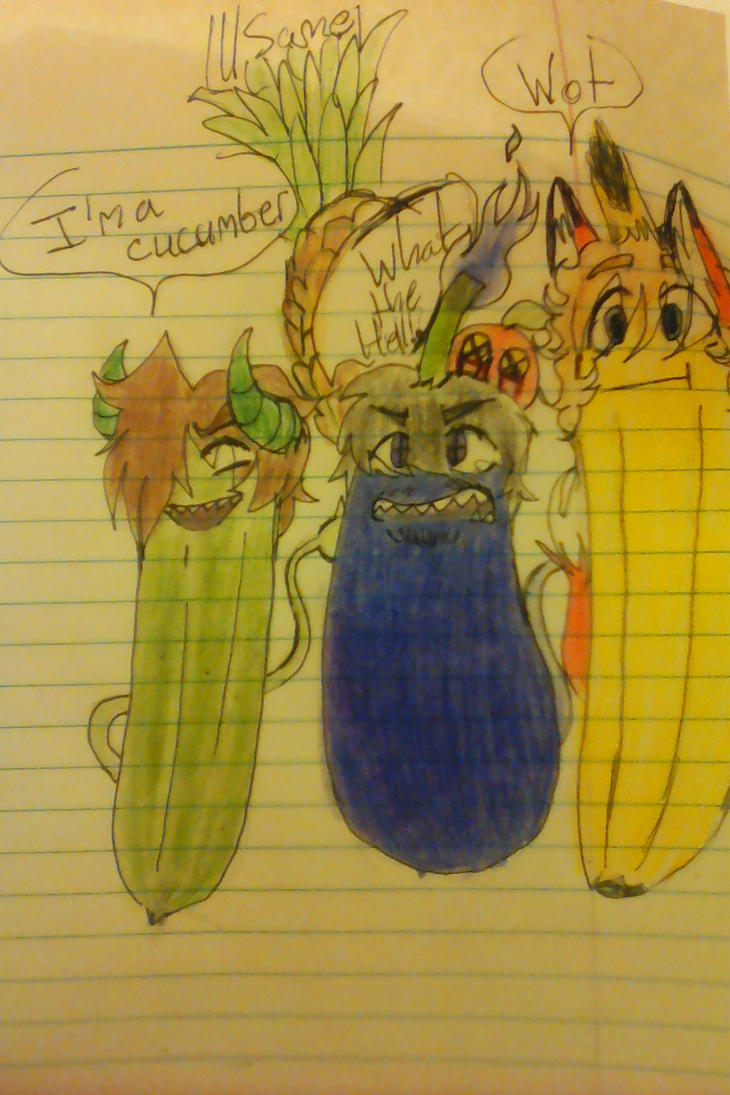 Bbys as fruits and veggies by Jucupcake90