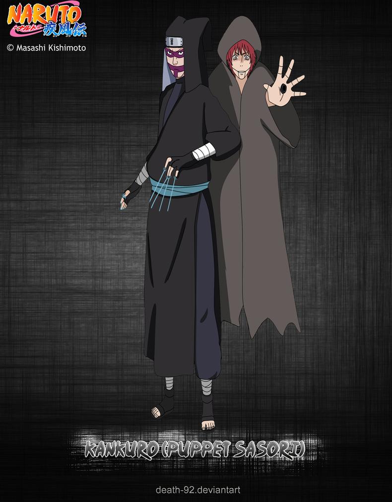 Kankuro ( puppet Sasori ) by Death-92 on DeviantArt