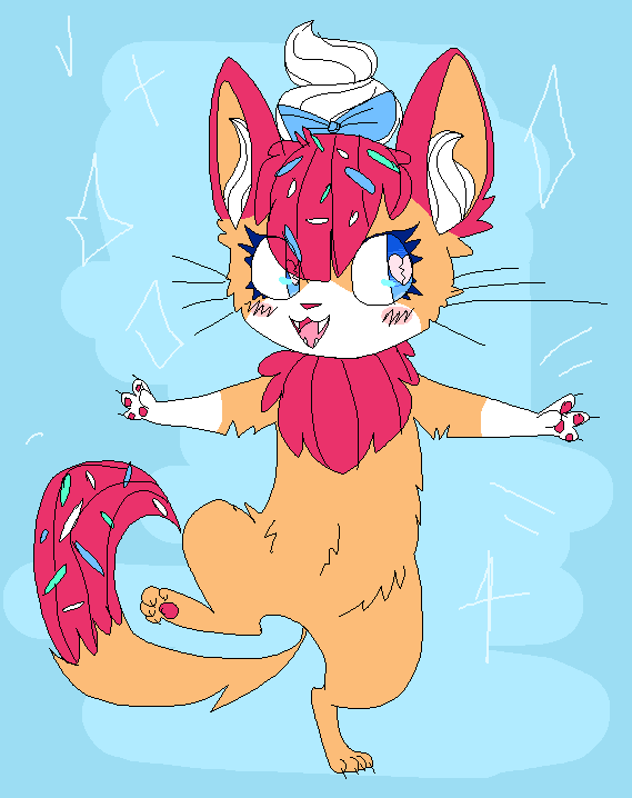 sprinkles on my headdd by ZoeTrents