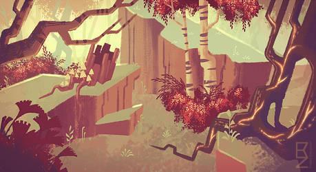 NIVA - Forest Mood 1 by Rendemel