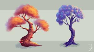 NIVA - Swingtree and Cloudtree by Rendemel