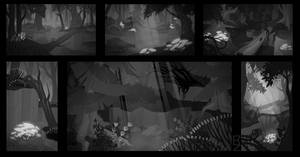 NIVA - Dark Forest Thumbnails