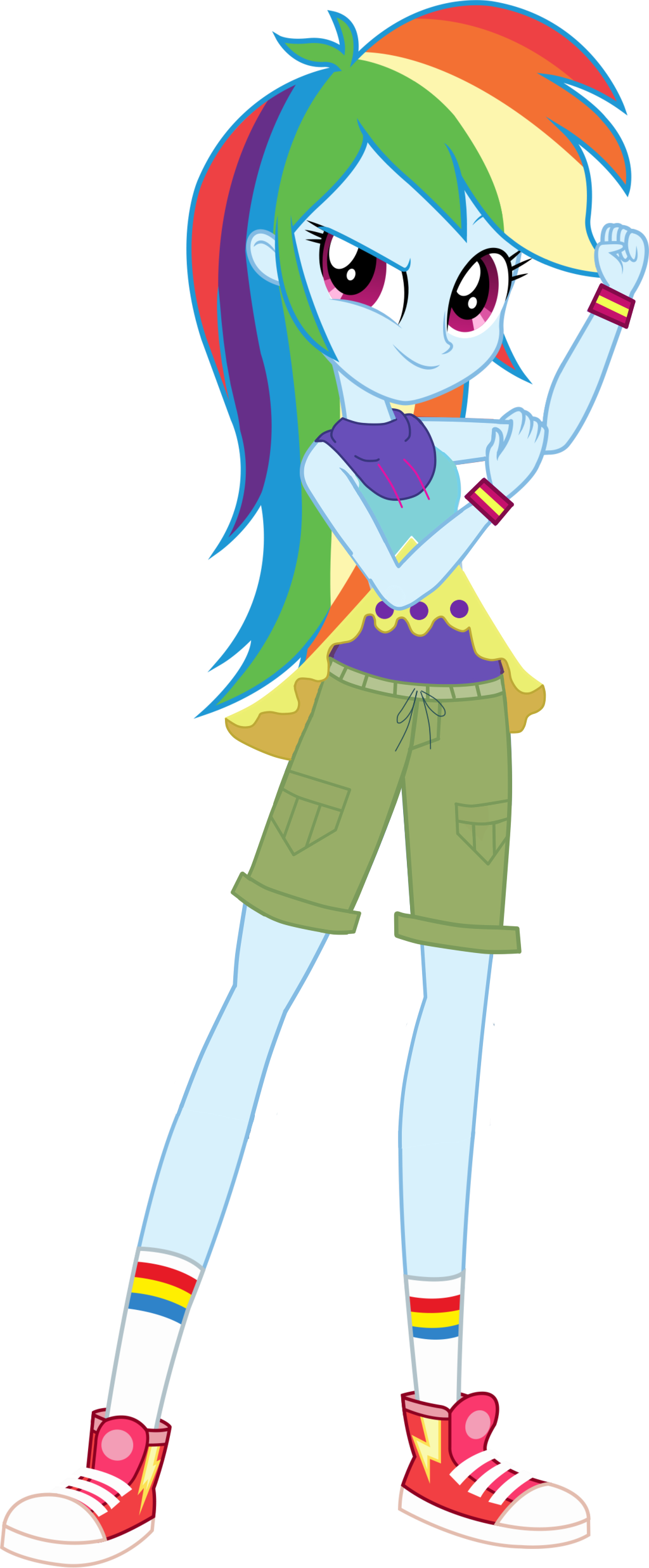 Rainbow Dash Legend Of Everfree By Mlgskittles On Deviantart