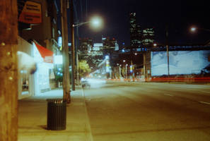 Seattle by Night by Yiffyfox
