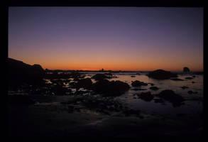 Pacific Sunset by Yiffyfox