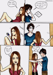 Comic Strip: 'Breaking Traditions' part 2 by DelenaComics