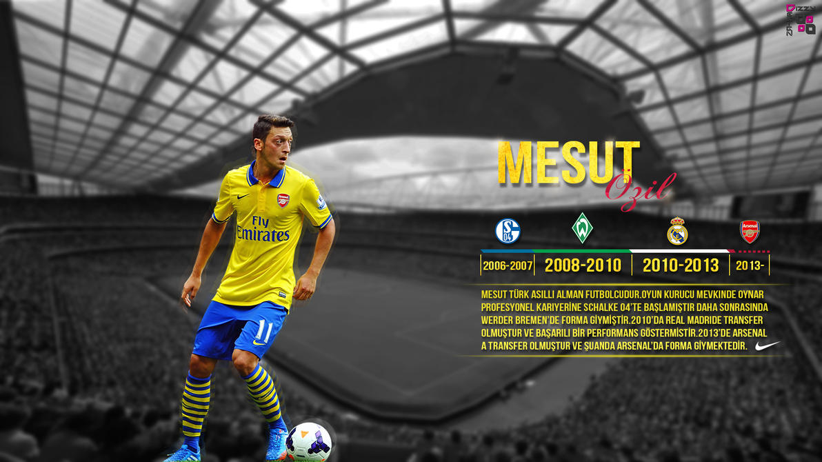 Mesut Ozil Wallpaper By DizzyDesign1905 On DeviantArt