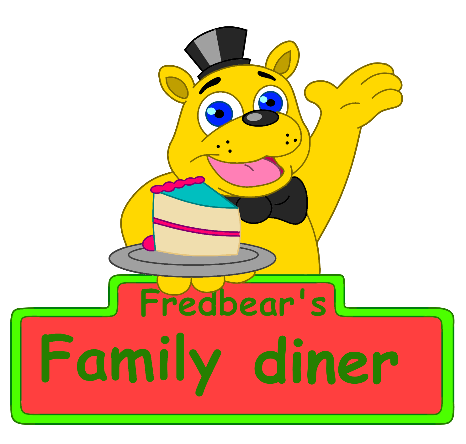 Fredbears family diner by boutin2009 on deviantart for Family diner