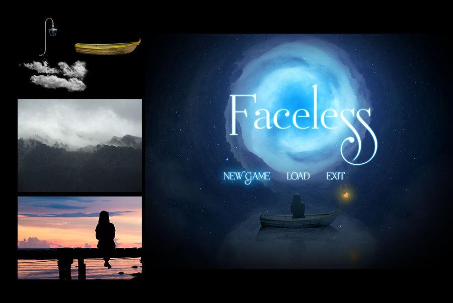 Faceless - Title screen