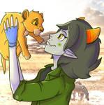Nepeta and Simba