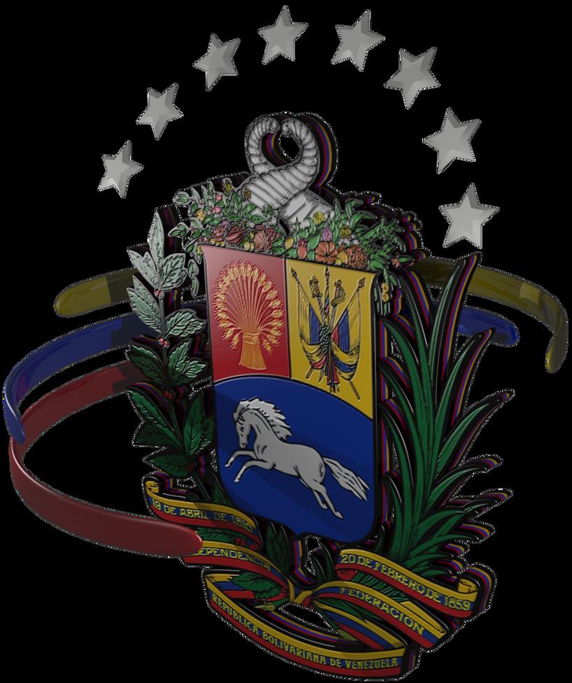 Escudo de Venezuela by deiby-ybied on DeviantArt: deiby-ybied.deviantart.com/art/escudo-de-venezuela-279583050