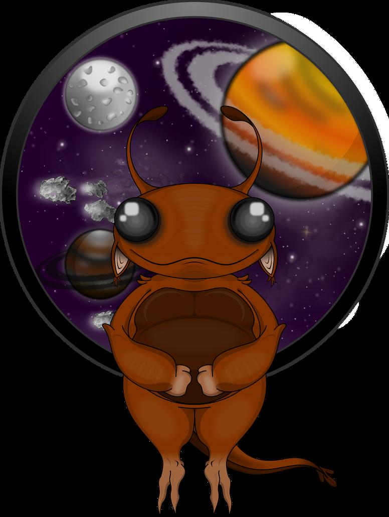 Extraterrestre by deiby-ybied