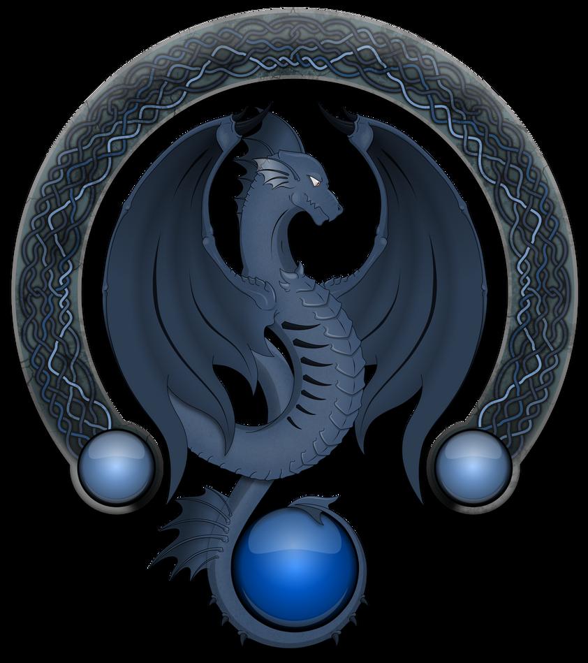 Dragon azul by deiby-ybied