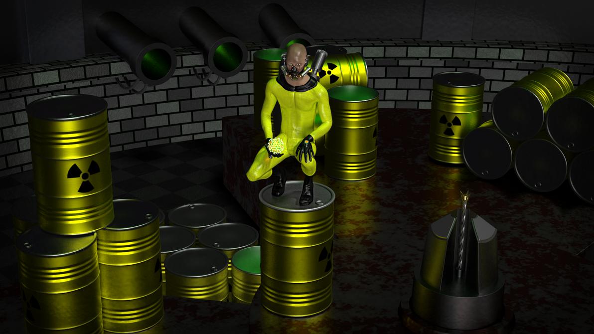 Hombre Radioactivo by deiby-ybied
