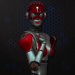 Mujer-Robor by deiby-ybied