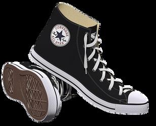Zapato Converse by deiby-ybied