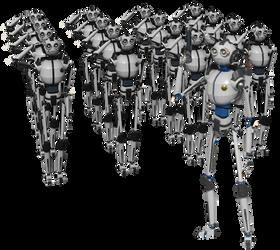 Comando robot by deiby-ybied
