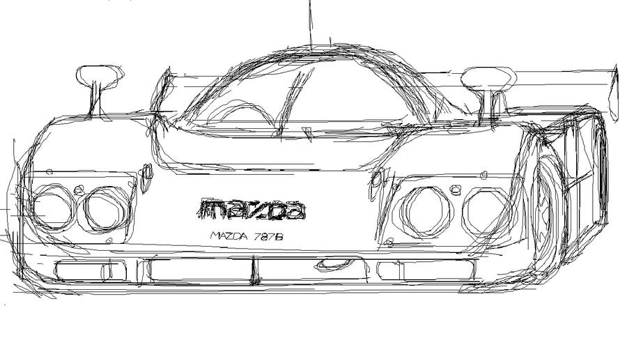 mazda 787b ms paint by jordmaniac on deviantart