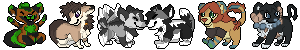 Pixel icon commission batch by Cpt-Mini