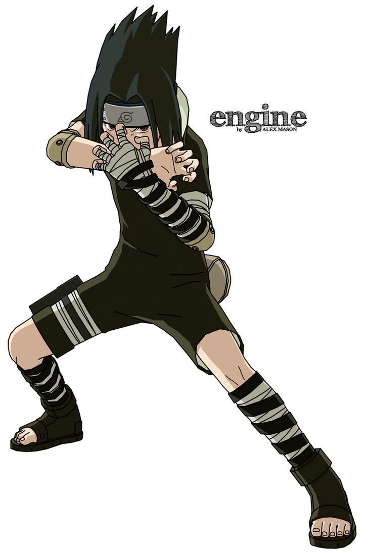 Sasuke (Part 1 - Black suit) by MasonENGINE on DeviantArt
