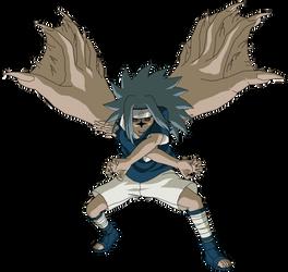 Sasuke (Part 1 - Awakening mode) by MasonENGINE