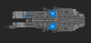 UN Excelsior-Class Battleship