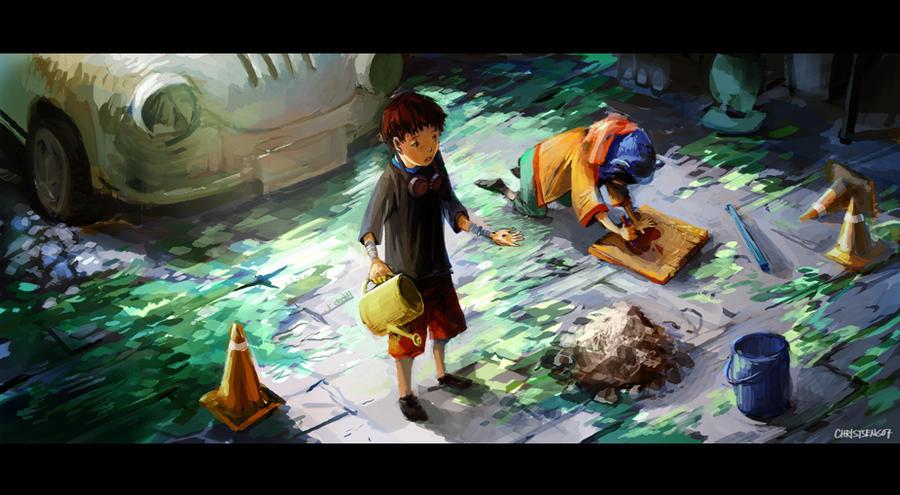 Tekkon K - Planting a Dream by lychi