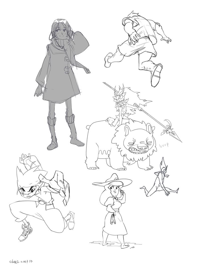 Sketchdump oct10-01 by lychi
