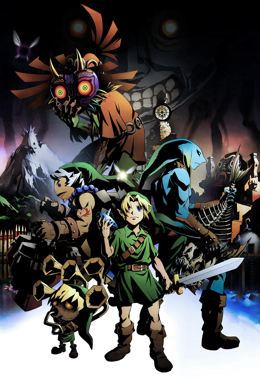 Majora's Mask by lychi