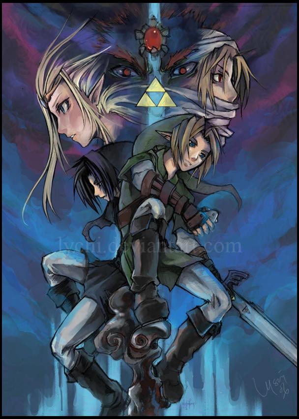 Zelda by lychi