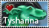 Tysharina Stamp by NakaseArt