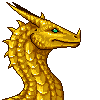 Gold Dragon Portrait Sprite by NakaseArt