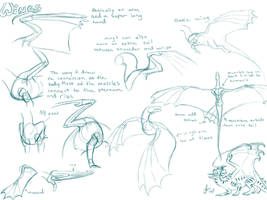 Dragon Wing Tutorial by NakaseArt