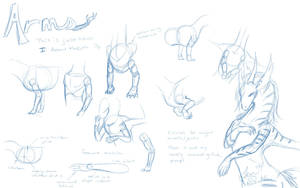Dragon Arm Tutorial by NakaseArt