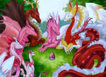 Valentine Dragon Gathering
