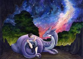 Starry Embrace by NakaseArt