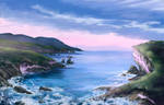 Coast Landscape by NakaseArt